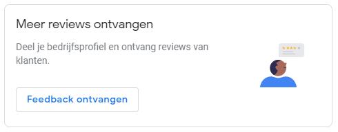 Google Mijn Bedrijf reviews ontvangen