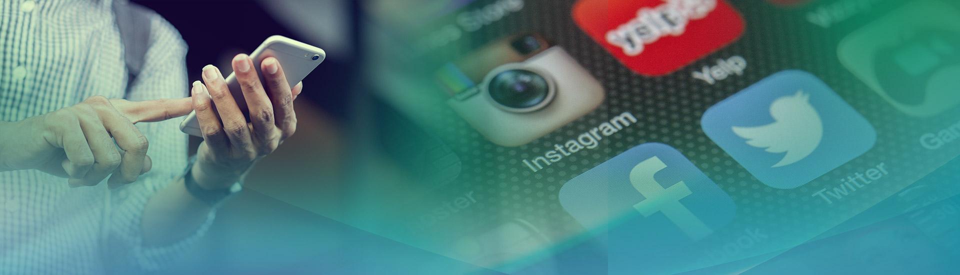 Social Media marketing omslag